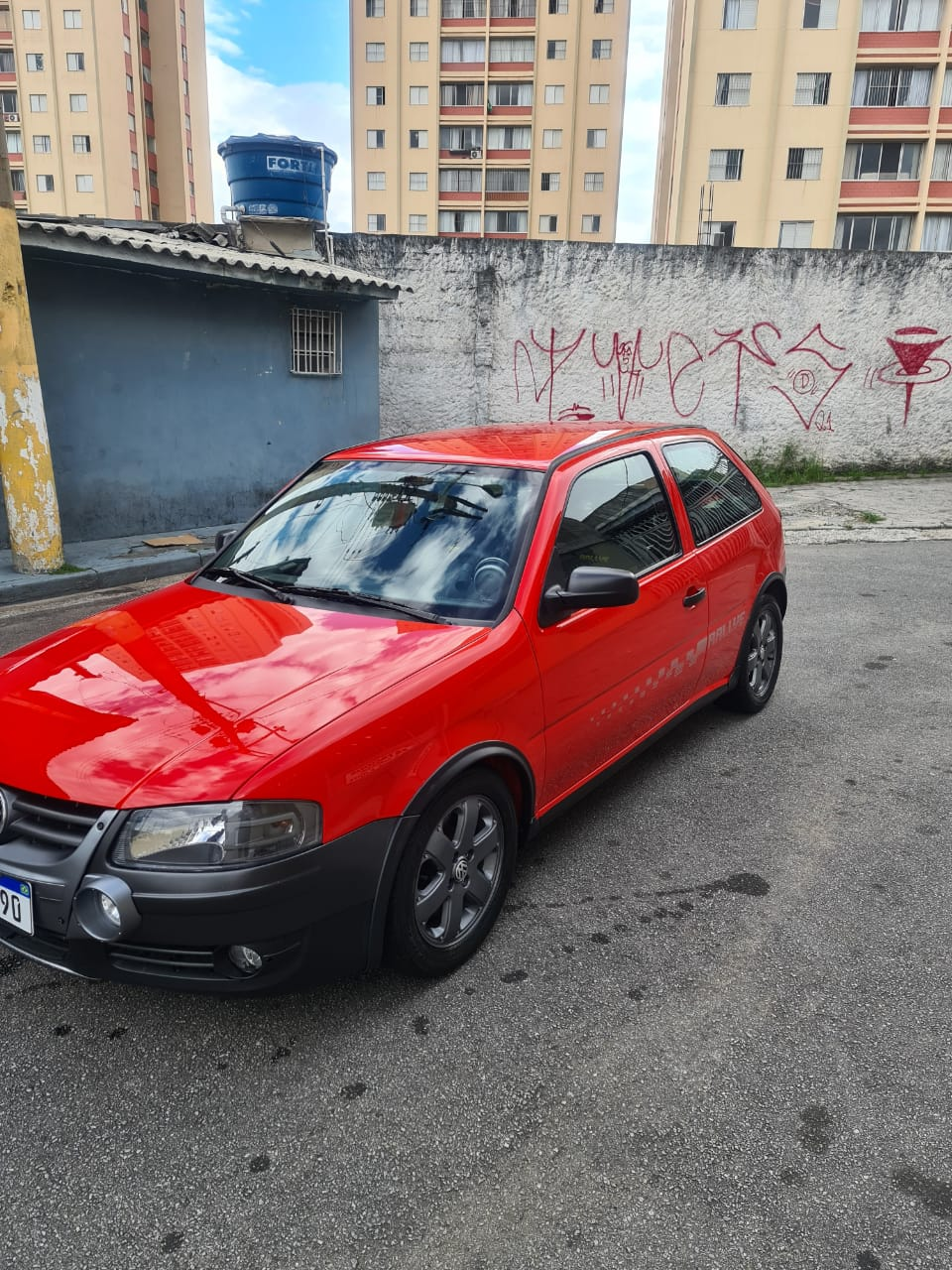 VW Gol G4 Rallye Turbo