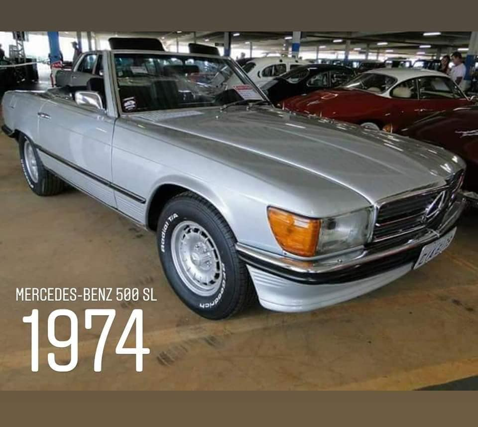 Mercedes-Benz 500 SL 1974